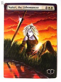 Magic Art, Alters, Mtg, Altered Art, Trading Cards, New Art, Comic Books, Comics, Movie Posters
