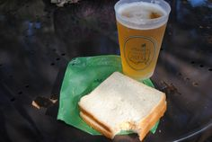 Masters pimento cheese sandwich! Best part of the trip? http://www.realfoodtraveler.com/2013/06/four-cheese-pimento-sandwiche-recipe-from-augusta-national-golf-club/