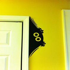 Wall sticker - cute monster