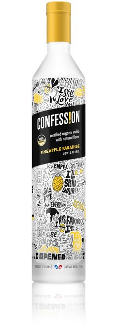 Confession Organic Vodka on Packaging of the World - Creative Package Design Gallery