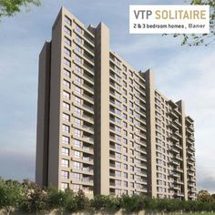 VTP Solitaire - 2 & 3 BHK flats by VTP Realty at Baner, Pune. To know more Visit: http://www.puneproperties.com/vtp-solitaire-baner.html #PuneProperties #FlatsinPune #ApartmentsinPune #FlatsinBaner #ApartmentsinBaner