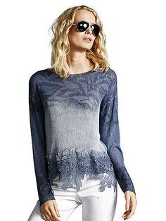 Der Pullover von LISA CAMPIONE ist der perfekte Style für den modisch-romantischen Sommer-Look