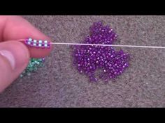 the Odd Count Peyote Stitch - A Beginner Beading Tutorial by Aura Crystals. -Learn the Odd Count Peyote Stitch - A Beginner Beading Tutorial by Aura Crystals. Seed Bead Jewelry, Bead Jewellery, Jewelry Making Beads, Diy Jewelry, Making Bracelets, Bead Earrings, Jewelry Findings, Seed Beads, Handmade Jewelry