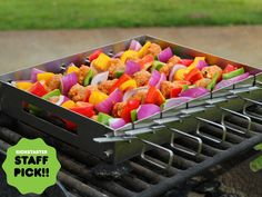 The easy to use Skewerack for grilling and BBQ #manly
