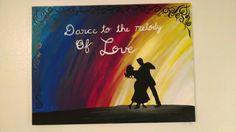 Love dance, acrylic
