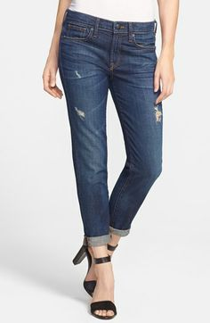 Vince Relaxed Rolled Jeans (New Vintage)