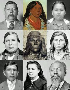 My ancestors :Muskogee Creek Indians