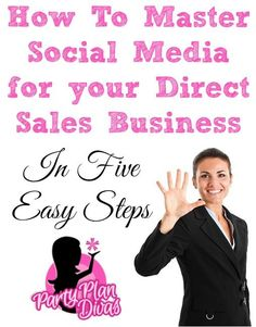 Are you struggling to manage your direct sales business social media efforts? Here are five quick tips to master social media for your business! Plan Marketing, Business Marketing, Business Tips, Social Media Marketing, Digital Marketing, Marketing Strategies, Online Business, Content Marketing, Internet Marketing