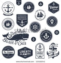Google Image Result for http://image.shutterstock.com/display_pic_with_logo/95809/103192541/stock-photo-set-of-vintage-retro-nautical-badges-and-labels-103192541.jpg