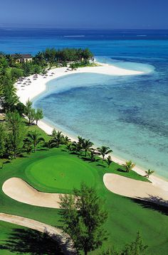Golf Course at Paradis Hotel & Golf Club, Mauritius