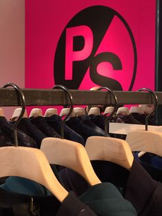 PS space at  PittiImmagine  PaulSmith  Hangers  hangwithcare  Toscanini Ps 3fef961581f