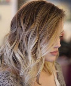 Blonde ombre waves by Nisantasi mini