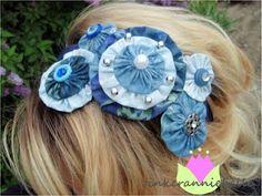 tinkeranniebelle: Yo-yo headbands--just in time for Summer!