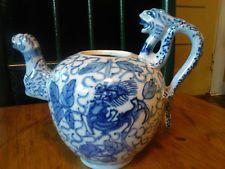 Antike Weinlese-Porzellan Chinese Dragon TEEKANNE - Ausgewiesener - Yongzheng