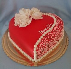 Cake Design added a new photo. Sweet Birthday Cake, Birthday Cake Writing, Happy Birthday Cake Images, Birthday Cake For Wife, Happy Birthday Wishes Cake, Cake Decorating Piping, Cake Decorating Designs, Cake Designs, Decorating Ideas