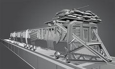 Image result for train concept art