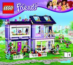 873bc475835 Emma's House 41095 - LEGO Friends - Building Instructions - LEGO.com Lego  Boxes,