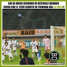 Tu cosa ci vedi? #bastardidentro #perfettamentebastardidentro #palla #calcio www.bastardidentro.it