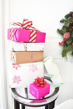 DIY Holiday Gift Wra