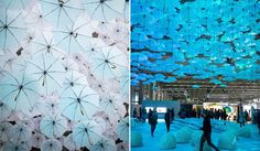 在芬蘭綻開的白色傘海 1100隻白色雨傘點亮北歐年度設計盛事 - La Vie行動家 設計改變世界