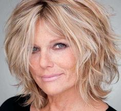 Women Blonde Hairstyles Over 50