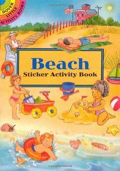 Beach Sticker Activity Book (Dover Little Activity Books)