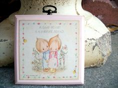 Hallmark Betsey Clark Plaque by SentimentalWhimsy on Etsy