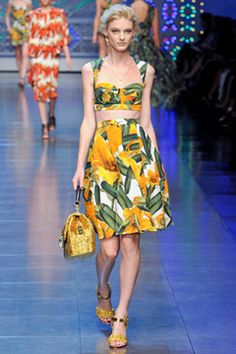 c037be109d8 TROPICS Dolce  amp  Gabbana Spring 2012 Ready-to-Wear Collection on Style.