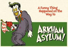Curiosities: Batman Characters in the Style of Doctor Seuss