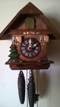 Reloj Cu-cu Alemán, Mecánico 100% Original. - $ 2,000.00