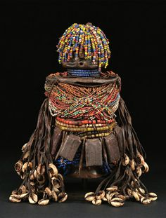 Dolls from Northern Cameroon African Dolls, African Masks, Art Fertility, Tribal Costume, African Sculptures, Art Premier, Effigy, Western Art, Tribal Art