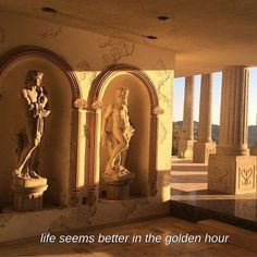 Aesthetic architecture uploaded by 𝓨𝓪𝓼𝓶𝓲𝓷𝓮 on We Heart It Brown Aesthetic, Sun Aesthetic, Aesthetic Collage, Mellow Yellow, Golden Hour, Narnia, Aesthetic Pictures, Palaces, Oeuvre D'art