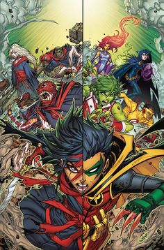 """""""Damian Knows Best"""" finale! The final showdown between the Teen Titans and the Demon's Fist is here! Will the Teen Titans rally behind their little leader? And"""