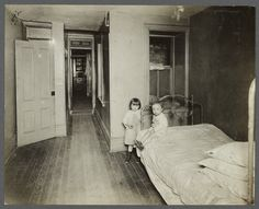 Tenement Children, c1910 photo by Jessie Tarbox Beals
