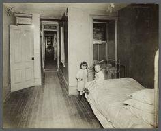Tenement Children, c1910 photo by Jessie Tarbox Beals