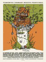 Of Monsters And Men Poster - Fort York, Toronto - Jud Haynes