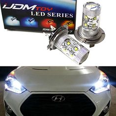 For Hyundai Veloster 2011-2016 High Main Beam H7 Xenon Headlight Bulbs Pair Lamp