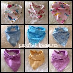 Bandana bibs all available on etsy www.etsy.com/shop/laurabelltreasures