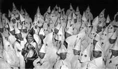 Ku Klux Klan meeting, South Carolina,1950's by W. Eugene Smith.