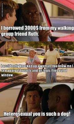 BROOKLYN NINE-NINE Coral Palms (2): they are hilarious!!!