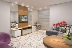 Resultado de imagen para projetos de design de interiores com tapetes para sala de estar