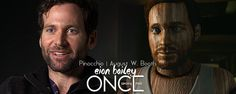 Eion Bailey | August W. Booth | http://www.onceuponatimefrance.fr/personnages-casting/pinocchio | Once Upon A Time