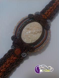 bransoletka z kamieniem Camea
