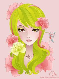 Four Seasons Spring by CQcat on deviantART