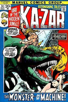 Astonishing Tales featuring Ka-Zar #14