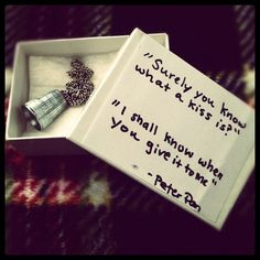 If anyone knows anything about me, this would be the sweetest, most perfect thing anyone or any GUY could possibly give me. :)