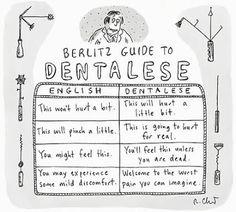 Dental Cartoons   Home » Dentistry in the Media » Another Dental Cartoon