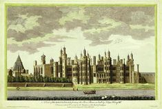 Richmond Palace 1497, it took 10 years to demolish after the execution of Charles II in 1649
