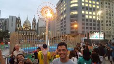 A star is born: Olympic cauldron becomes downtown Rio's latest must-see attraction