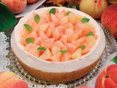 キルフェボン 桃とチーズのタルト peach cheese tart
